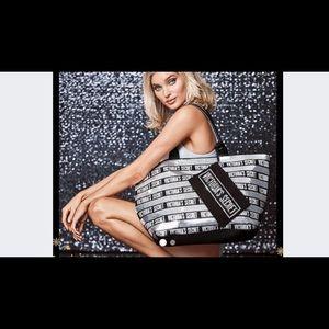 Victoria Secret sequins Bag NWT in packaging.